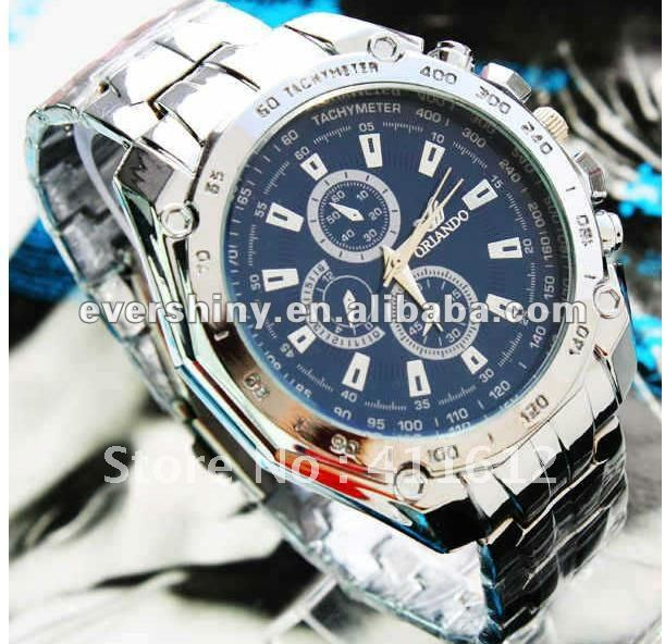 Men Automatic Mechanical Stainless Steel Marine watch Revenge brand name wrist watches for men