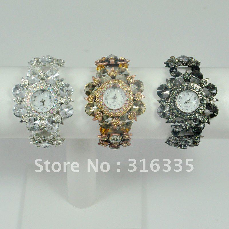 New Brand fashion style Watches jewelly watches multicolor promotion