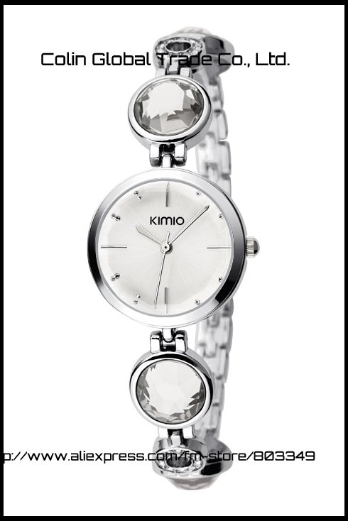 New designer kimio fashion steel crystal best ladies gift watch drop shipping K465L