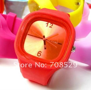Leather 23 cm Round watch Glass Automatic Self-Wind OF-0024