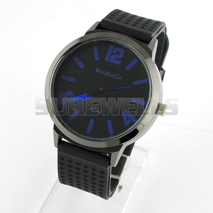 Promotion 20 off Only 3 days New Fashion Quartz Silicone Strap Watch Stylish Trendy Watches NBW0SI6785