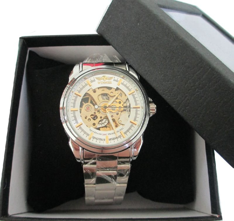 Leather 24 cm Square watch Resin Digital S5M