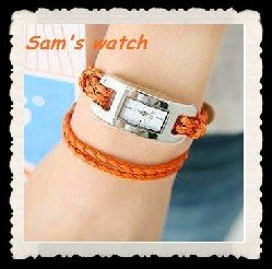 Rope Watch All Countries Hand knitted Leather Watch