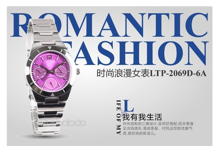 Swiss movment Water Resistant 50 Meters NEW women s girl casi brand Watch purple Dial Quartz