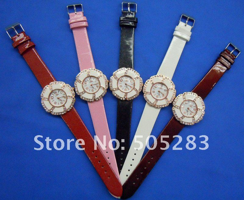 Watch Fashion luminous hand flower shape women watch high quality ZH1180 M3
