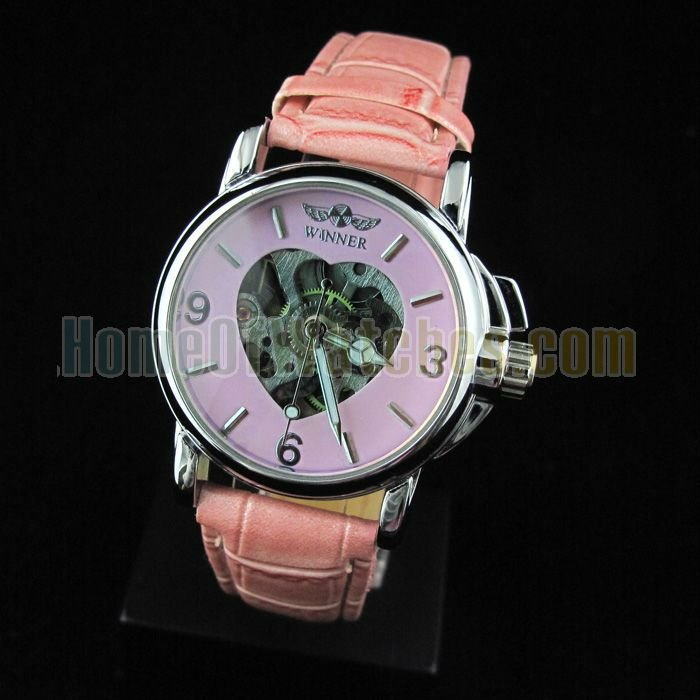 Rubber 8.66 inch Round watch Glass Quartz 9665