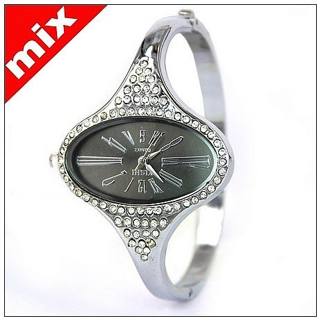 Stainless Steel 22.5 cm Round watch Sapphire Mechanical Hand Wind