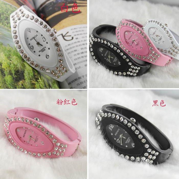 Women Quartz watch Sport Rubber 4.5 cm