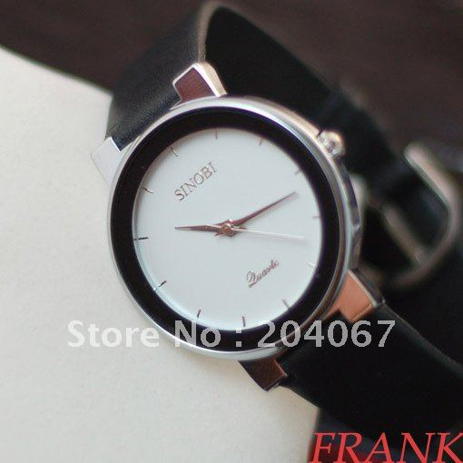 men watch with leather band best price hot sell high quality s3566