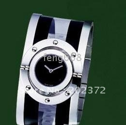Leather 24cm Round watch Glass Automatic Self-Wind